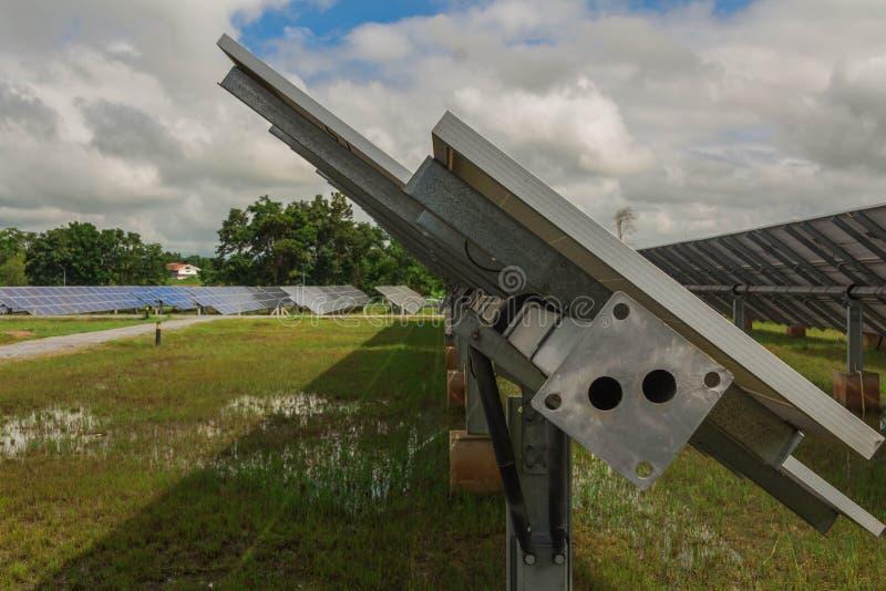 Astuce du tube de couple, 4 5MM/6MM dans le système de piste solaire d'usine photo libre de droits