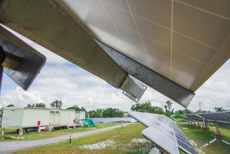 Astuce du tube de couple, 4 5MM/6MM dans le système de piste solaire d'usine photographie stock libre de droits
