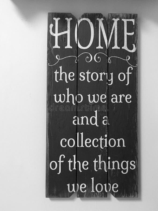 Astuces utiles au sujet de notre maison image stock
