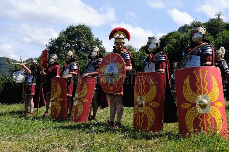 astur carabanzo festiwal rzymski obrazy stock