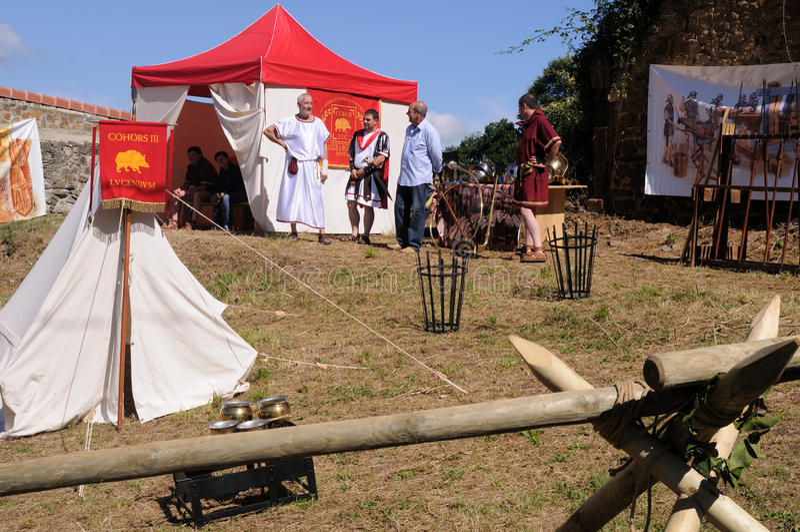 Download Astur-Roman Festival CARABANZO Editorial Stock Image - Image of custom, country: 23076194