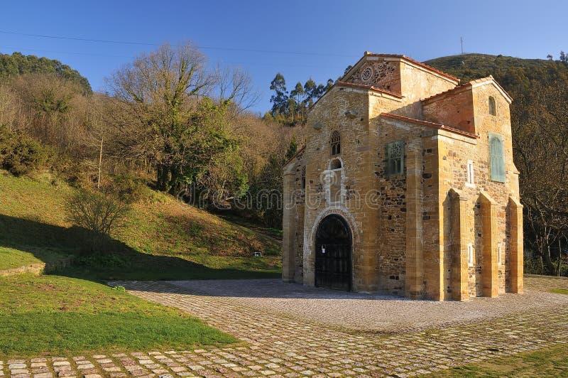 Asturian前罗马式。 免版税库存图片