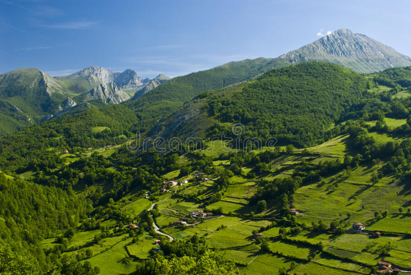 Asturias royalty-vrije stock afbeelding