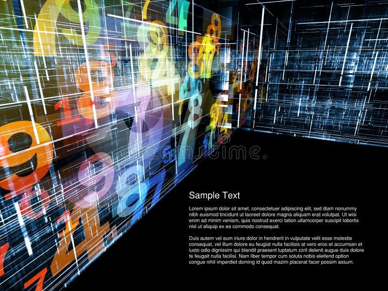 Asunto 3D ilustración del vector