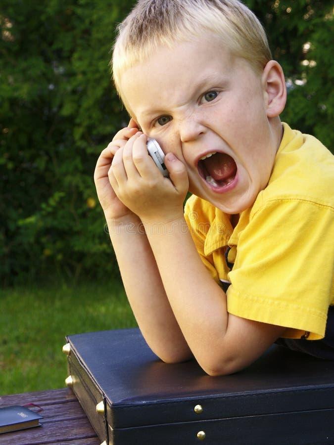 Asunto boy#7 foto de archivo libre de regalías