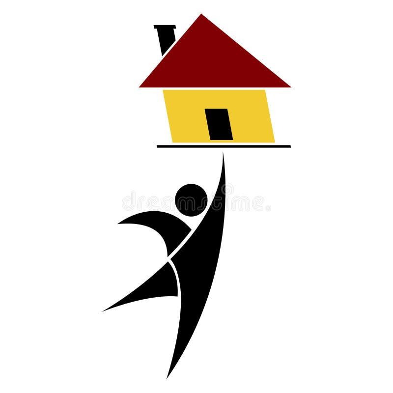 Asunto de las propiedades inmobiliarias libre illustration