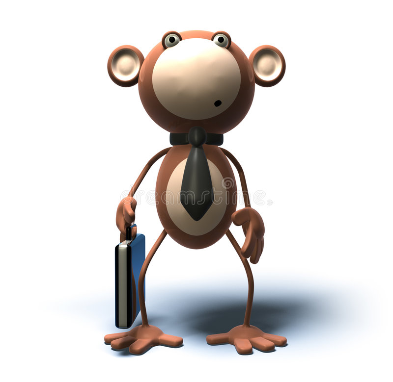 Asunto de mono libre illustration