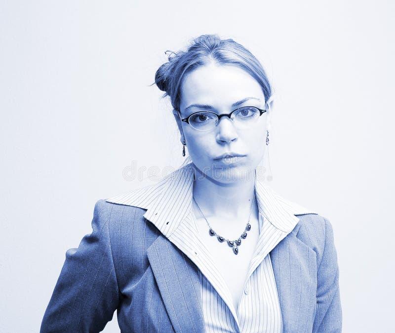 Asunto en azul imagenes de archivo