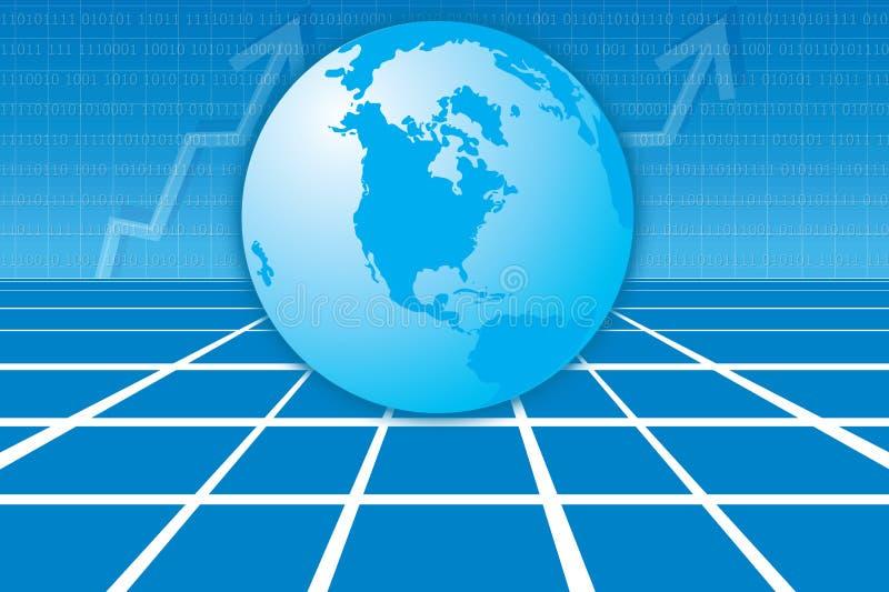 Asunto mundial stock de ilustración