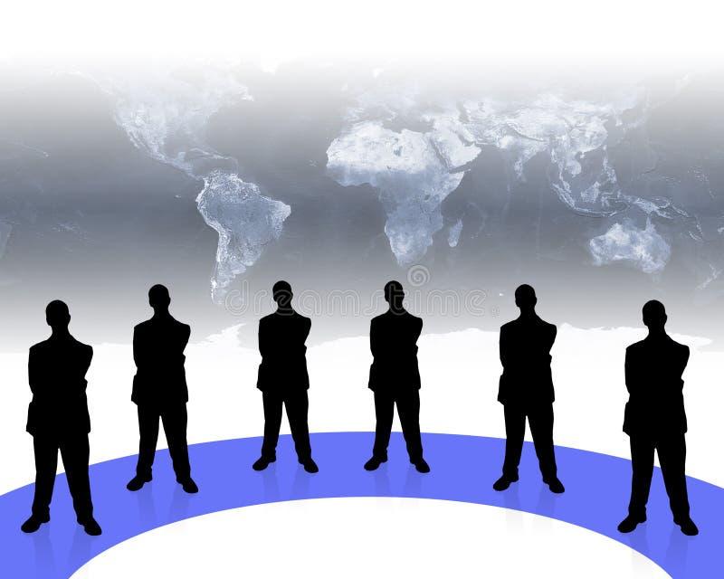 Asunto team-2 ilustración del vector