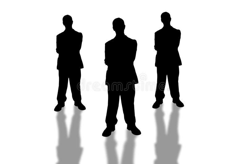 Asunto team-5 stock de ilustración