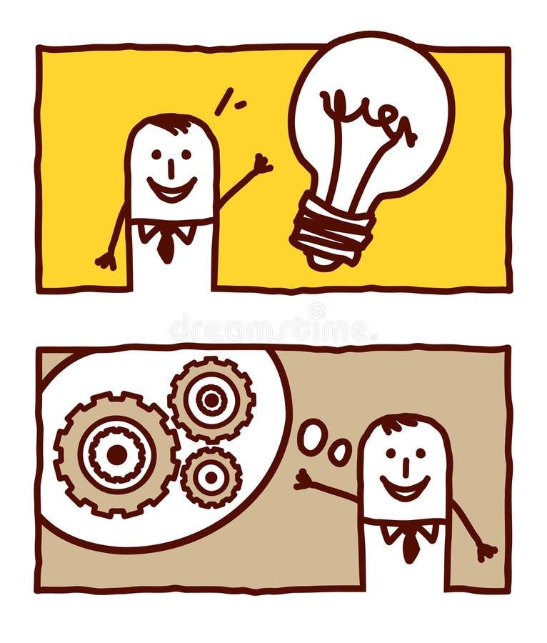 Asunto y concepto libre illustration