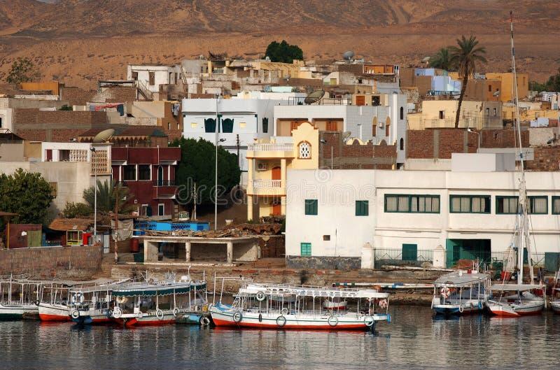 aswan стоковое фото