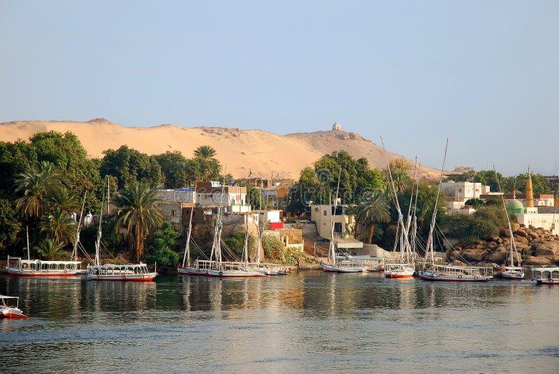 aswan стоковое изображение