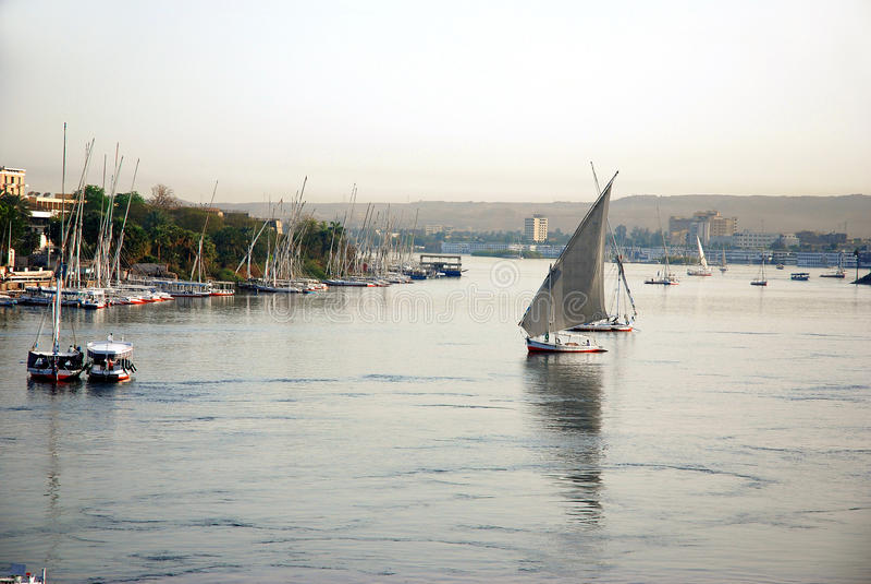 Aswan photographie stock libre de droits