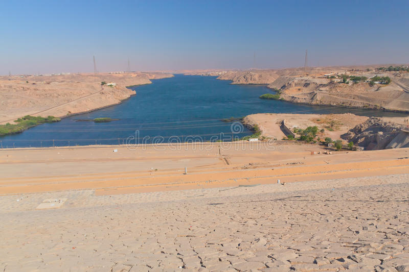 Download Aswan Dam On The River Nile (Egypt ) Royalty Free Stock Photos - Image: 23326408