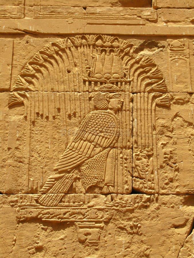 Aswan, Egypte : Temple de Kalabsha dans le lac Nasser images stock