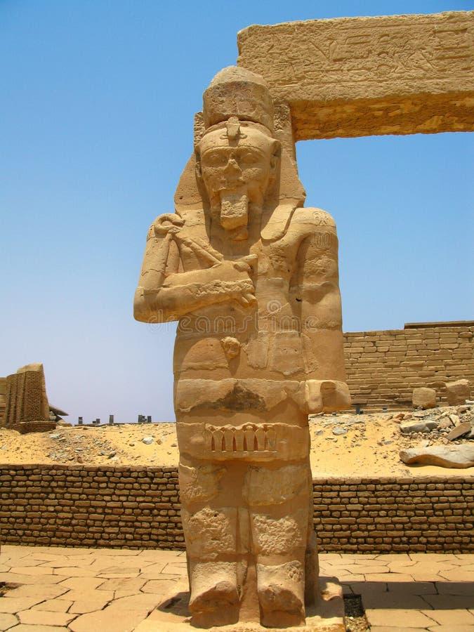 Aswan, Egypte : Temple de Kalabsha dans le lac Nasser photographie stock