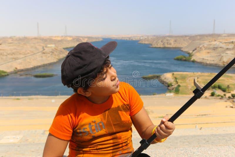 Aswan od wierzchołka - Egipt zdjęcia royalty free