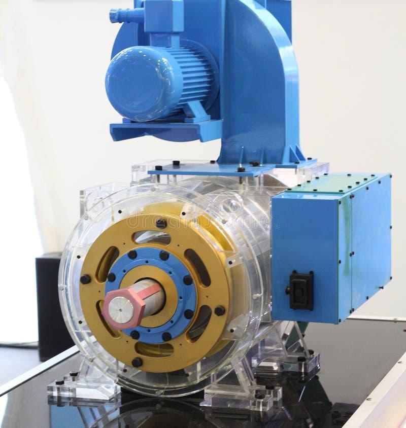 Asynkron AC-motor med frekvenskontrollhastighet arkivbild