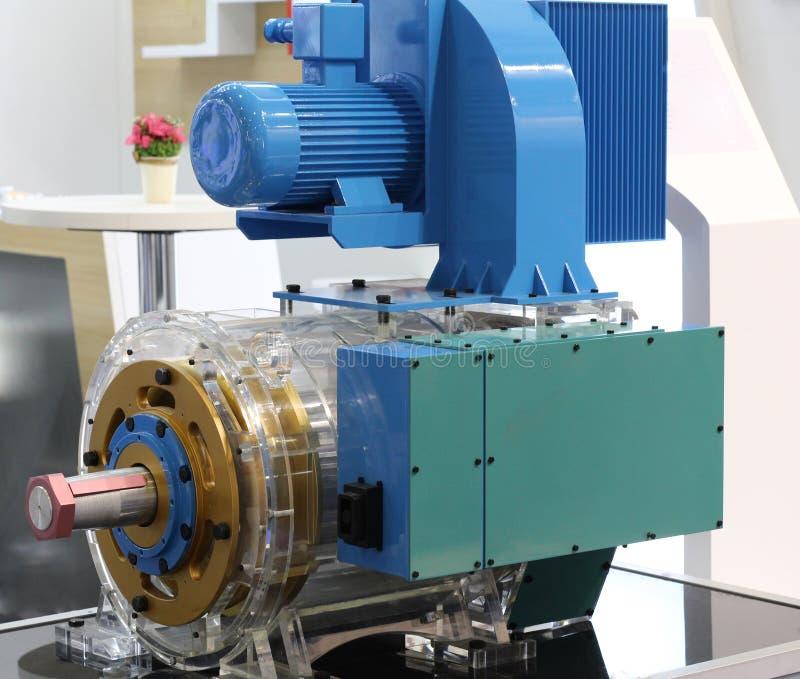 Asynkron AC-motor med frekvenskontrollhastighet royaltyfri fotografi