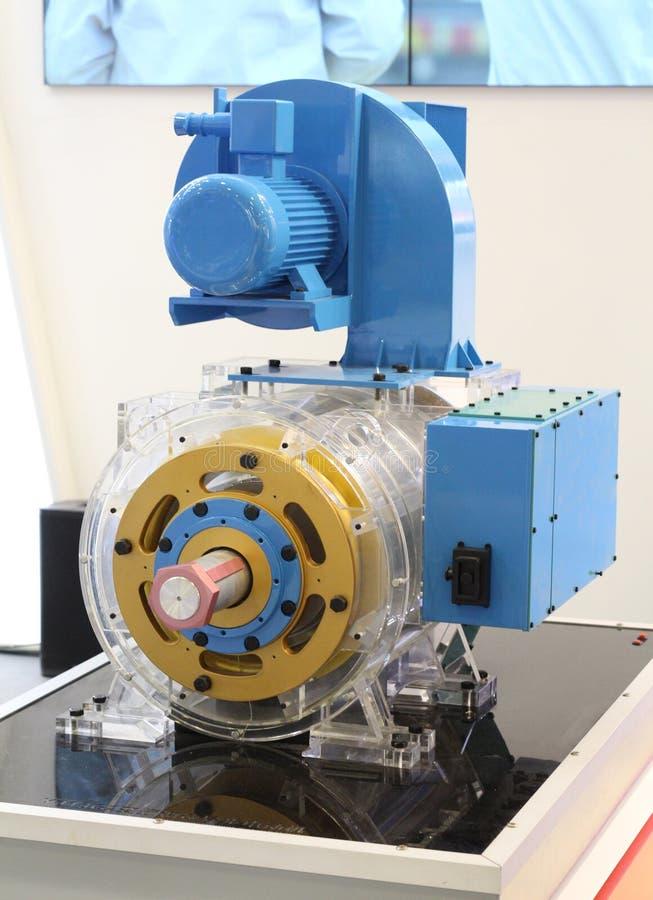 Asynkron AC-motor med frekvenskontrollhastighet royaltyfri bild