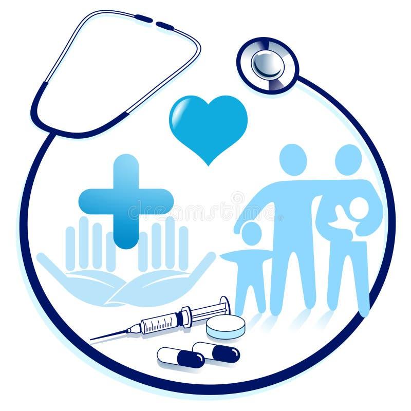 asystowanie medyczny ilustracja wektor