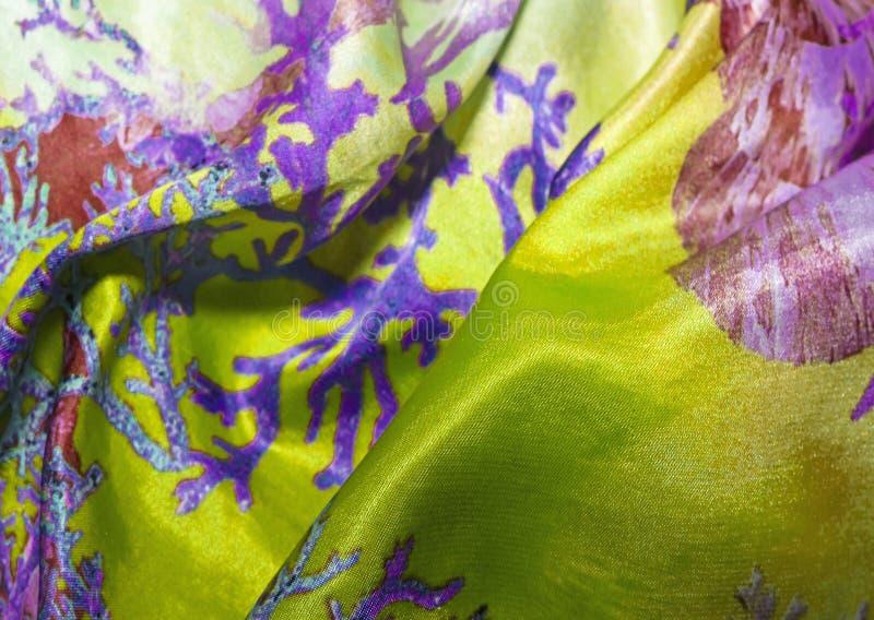 atłasowa tekstura barwiona tkanina dla tło, zdjęcia stock