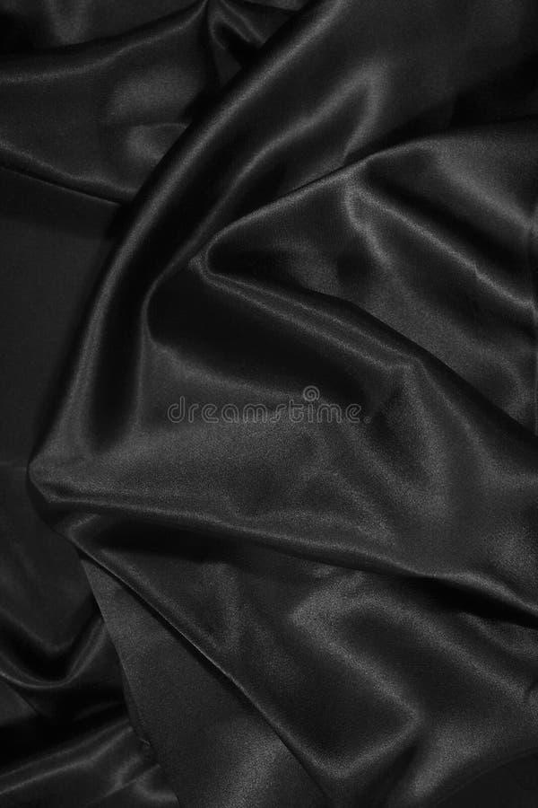 atłasowy czarny zamknięty krańcowy atłasowy jedwab zdjęcia royalty free