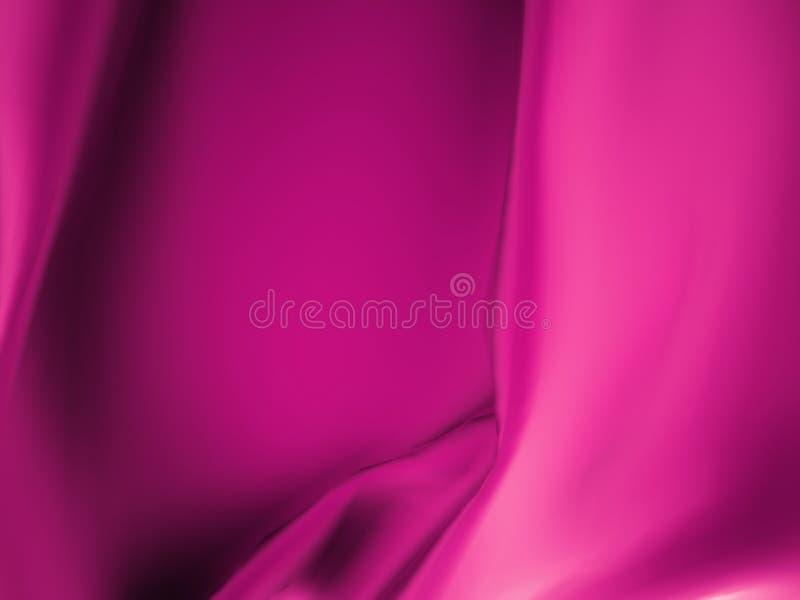 Atłasowy płótno w purpurach ilustracja wektor