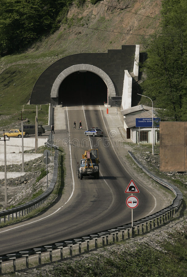 Free At Entrance To The Tunnel Stock Photography - 1597422