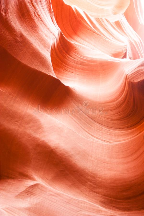 Free At The Heart Of The Antelope Lower Canyon Stock Photography - 118534572