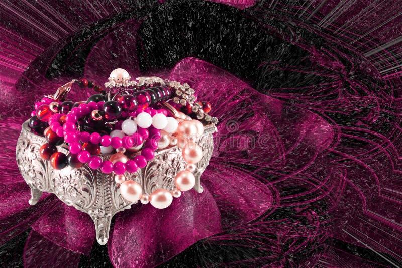 Ataúd de joyas imagen de archivo libre de regalías