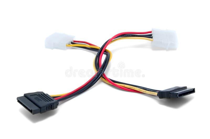ata кабели приводят серийную поставку в действие стоковые фотографии rf