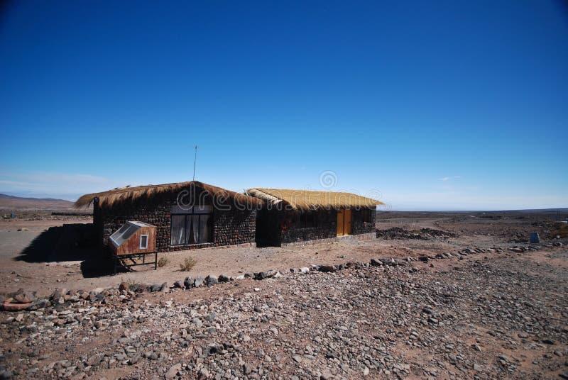Atacama desert of Chile stock photography