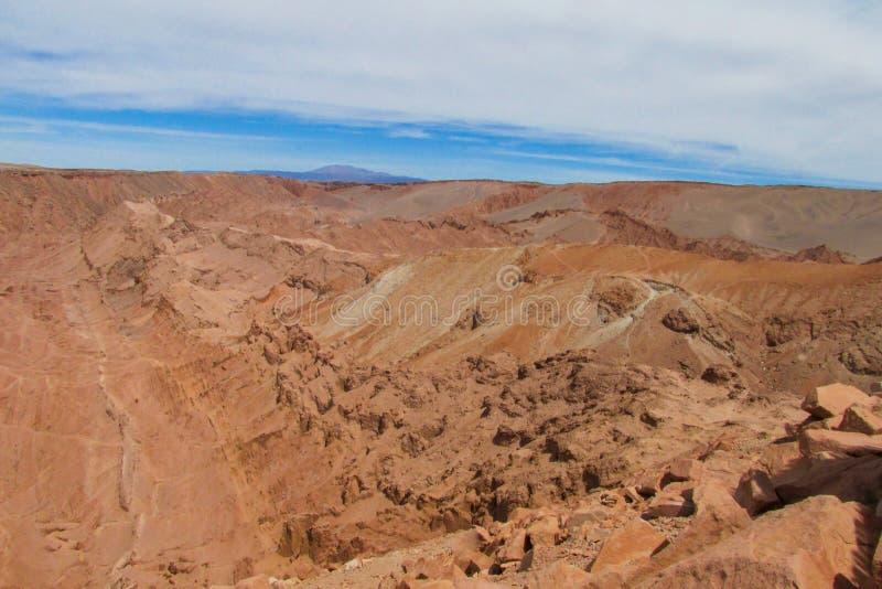 Atacama-Wüstenhügel lizenzfreies stockbild