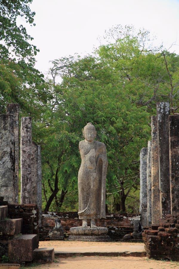 Atadage in Sacred Quadrangle. Polonnaruwa, Sri Lanka stock images
