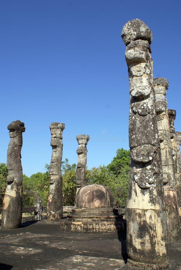 atadagepolonnaruwa arkivfoto