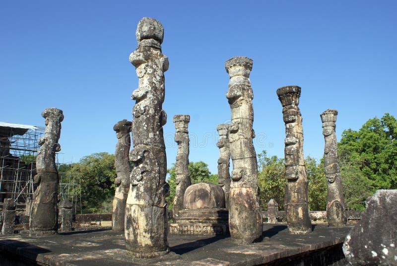 atadagepolonnaruwa arkivbild