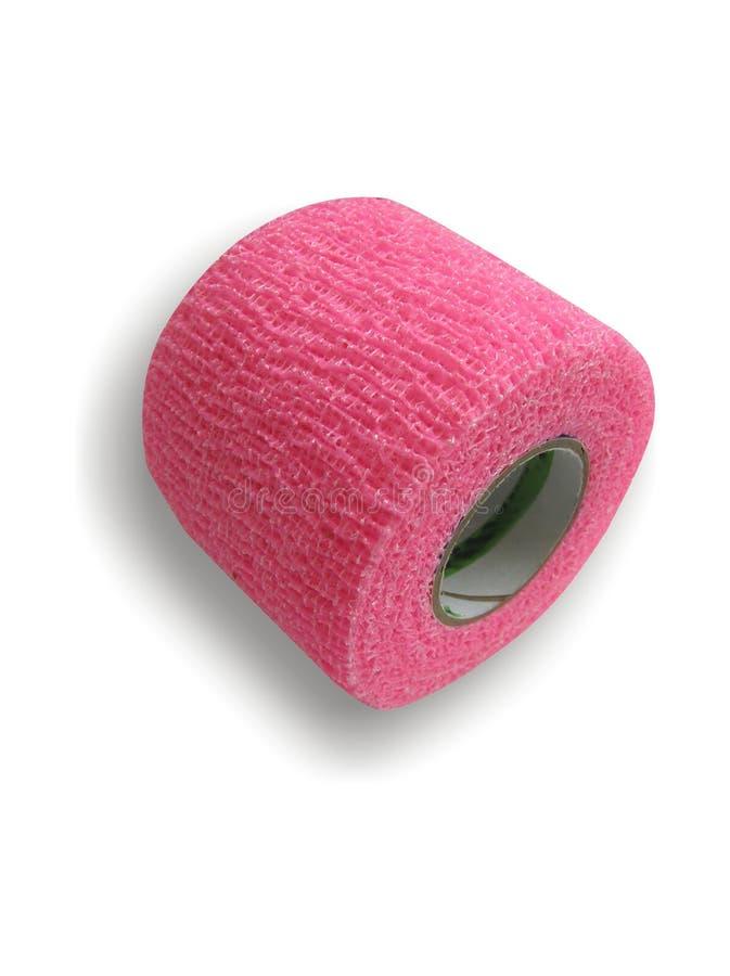 Atadura cor-de-rosa imagem de stock