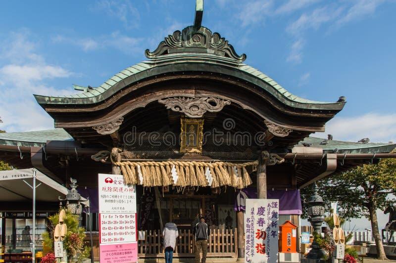 Atago寺庙 库存照片