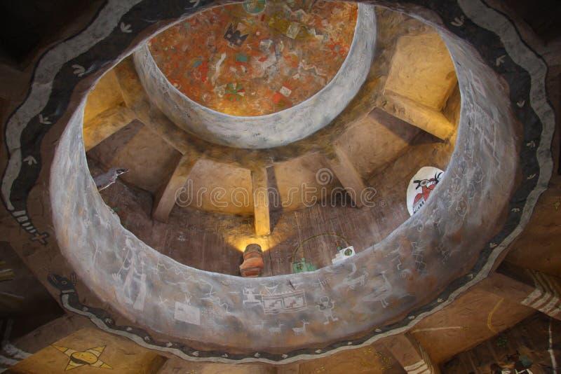 Atalaya de los murales del arte de la pared imagenes de archivo