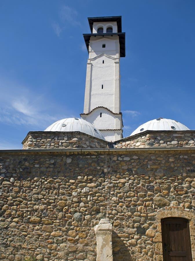 Atalaya de Sahat Kulla, Prizren, Kosovo fotos de archivo