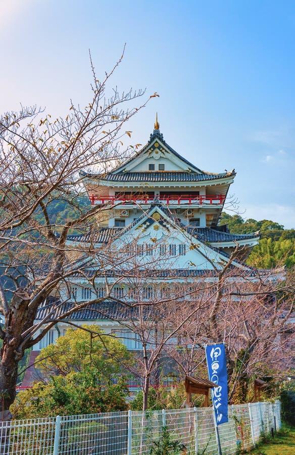 Atami-Schloss, Präfektur Shizuoka, Japan stockbilder