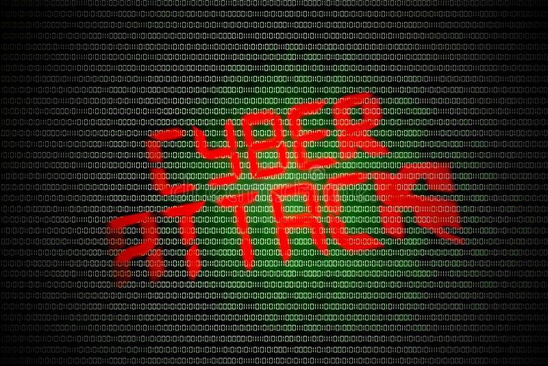 Ataque cibernético libre illustration