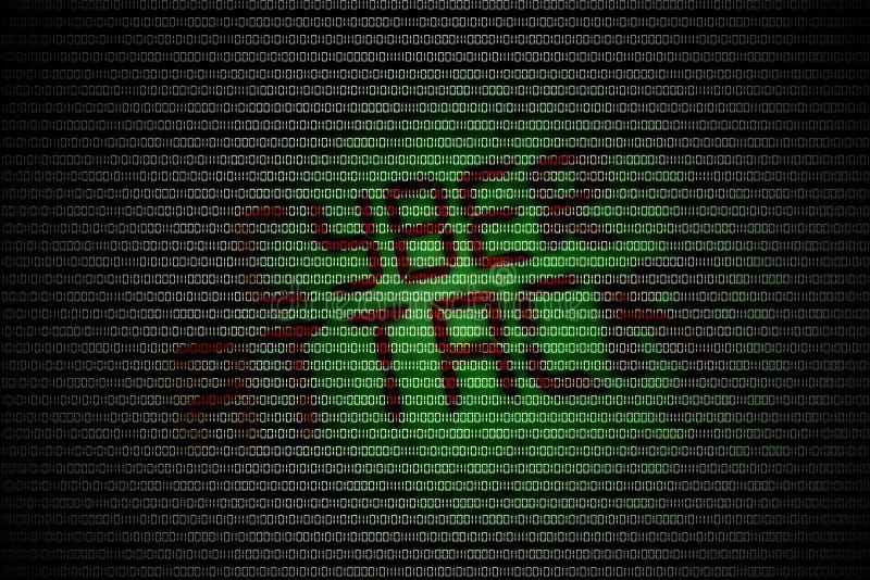 Ataque cibernético imagenes de archivo