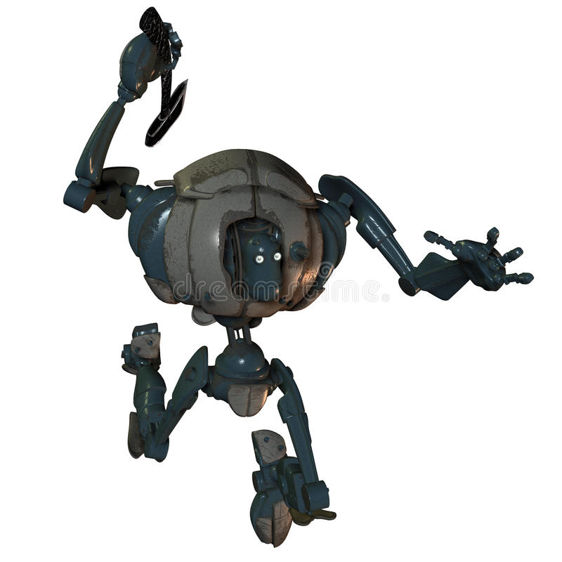 Ataque de los robots libre illustration