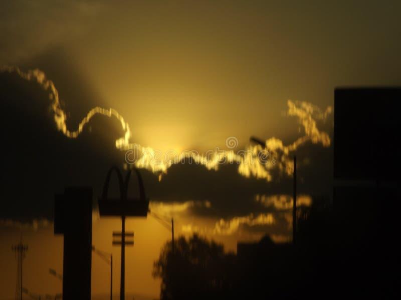 Download Atardecer stock image. Image of clouds, atardecer, light - 84976787