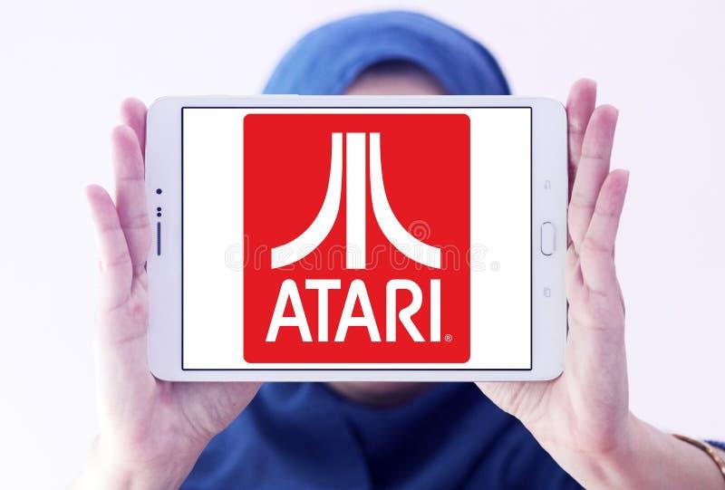 Atari商标 免版税库存照片