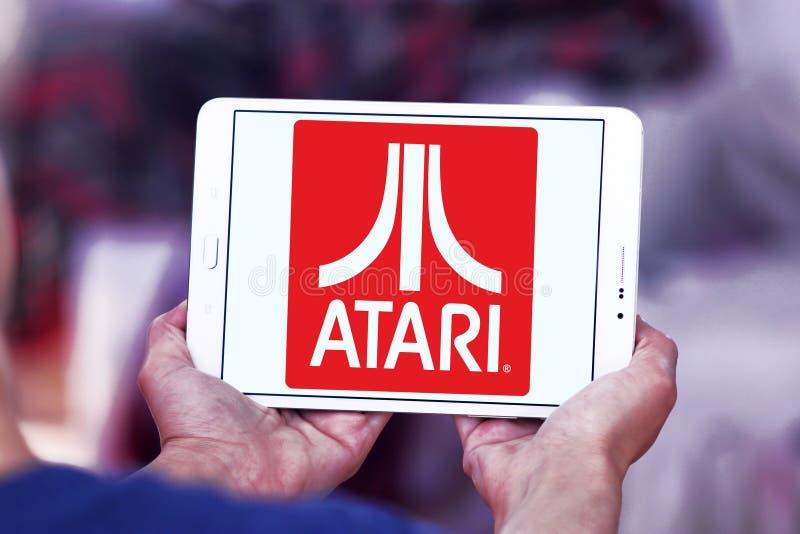 Atari商标 库存图片
